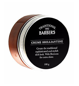 CREME BRILLIANTINE ~ 100g ~ TRADITIONAL BARBERS Collection