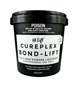 500g ~ CUREPLEX BOND ~ LIFT BLEACH TUB ~ HI LIFT Collection