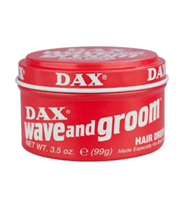 WAVE & GROOM ~ HAIR DRESS ~ SUPERIOR HOLD ~ DAX WAX Collection