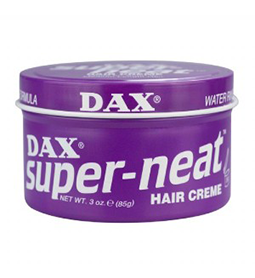 SUPER NEAT ~ HAIR CREME ~ MEDIUM TO LIGHT HOLD ~ DAX WAX Collection