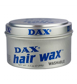 WASHABLE ~ HAIR WAX ~  NEW WATER SOLUBLE WAX FORMULA ~ DAX WAX Collection