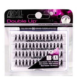 LONG BLACK ~ DOUBLE KNOTTED ~ INDIVIDUAL FLARE LASHES ~ ARDELL Collection