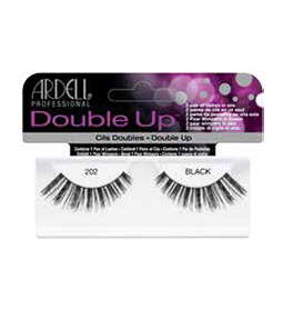 202 BLACK ~ DOUBLE UP STRIP LASH RANGE ~ ARDELL Collection