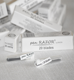 BLADES ~ 20 Pack ~ PEN RAZOR REFILLS ~ SUNDRIES ~ BARBER Collection