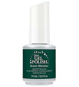 GREEN MONSTER ~ 14ml ~ JUST GEL POLISH ~ IBD Collection