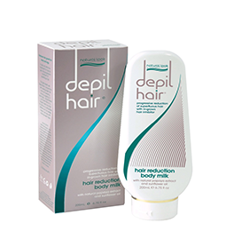 DEPIL-HAIR ~ HAIR REDUCTION ~ BODY MILK ~ 200ml ~ NATURAL LOOK Collection