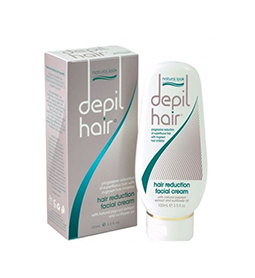DEPIL-HAIR ~ HAIR REDUCTION ~ FACIAL CREAM ~ 100ml ~ NATURAL LOOK Collection