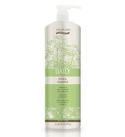 DAILY ~ HERBAL SHAMPOO ~ 1 Litre ~ NATURAL LOOK Collection