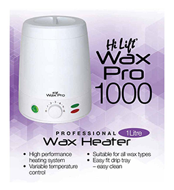 WAX PRO 1000 ~ 1 Litre WAX POT ~ HI LIFT Collection