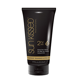 2Hr INSTANT TANNING ~ LOTION 175ml ~ SUNKISSED Collection