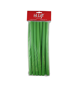GREEN ~ LONG ~ 12 Pack ~ FLEXIBLE RODS ~ HI LIFT Collection