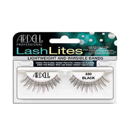330 BLACK ~ LASH LITES STRIP LASH RANGE ~ ARDELL Collection