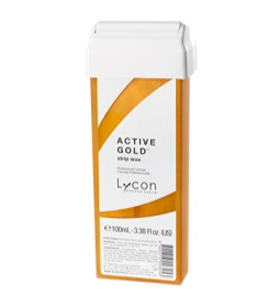 ACTIVE GOLD ~ STRIP WAX CARTRIDGE ~ LYCON Collection