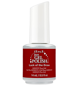 LUCK OF THE DRAW ~ 14ml ~ JUST GEL POLISH ~ IBD Collection