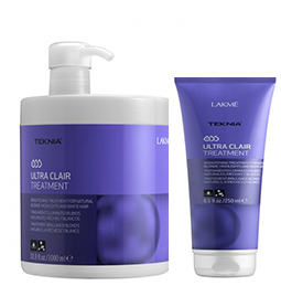 ULTRA CLAIR ~ CONDITIONING TREATMENT ~ COLOUR REFRESH RANGE ~ LAKME Collection
