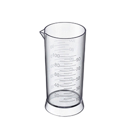 CLEAR ~ 100ml ~ MEASURING CUP ~ HI LIFT Collection