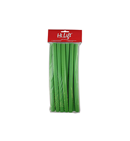 GREEN ~ MEDIUM ~ 12 Pack ~ FLEXIBLE RODS ~ HI LIFT Collection