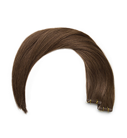MOCHA ~ HUMAN HAIR ~ 21 INCHES ~ S1 TAPE EXTENSION Collection