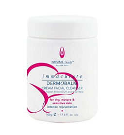 Immaculate Dermobalm Cream Facial Cleanser ~ NATURAL LOOK Collection