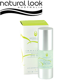 Immaculate Anti-wrinkle Eye Gel ~ NATURAL LOOK Collection