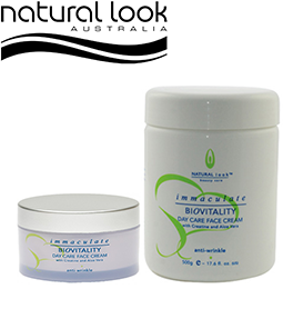 Biovitality Day Care Anti-wrinkle Cream ~ NATURAL LOOK Collection