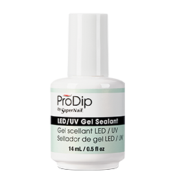 *No.4 ~ FINISH OPTION ~ LED/UV GEL SEALANT ~ PRODIP Collection