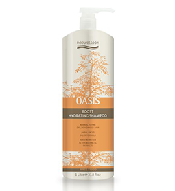 OASIS ~ BOOST HYDRATING SHAMPOO ~ 1 Litre ~ NATURAL LOOK Collection