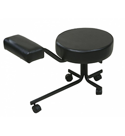PEDICURE ~ STOOL ~ BLACK ~ JOIKEN Collection
