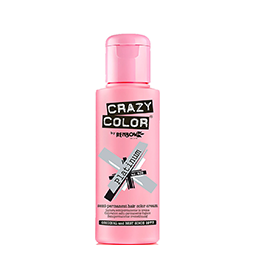 PLATINUM ~ SEMI-PERMANENT HAIR COLOUR CREAM ~ CRAZY COLOR Collection