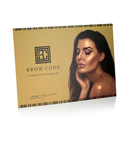 POSTER ~ MARKETING ACCESSORIES ~ BROW CODE Collection
