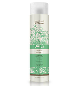 DAILY ~ HERBAL SHAMPOO ~ 375ml ~ NATURAL LOOK Collection