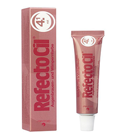 NO. 4.1 RED ~ EYELASH & BROW TINT ~ REFECTOCIL Collection