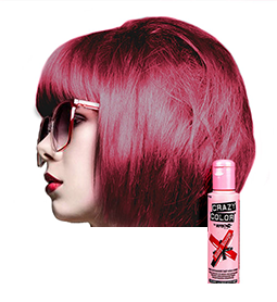 RUBY ROUGE ~ SEMI-PERMANENT HAIR COLOUR CREAM ~ CRAZY COLOR Collection