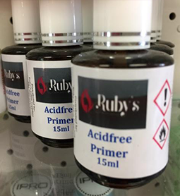 ACID FREE PRIMER ~ 15ml ~ RUBY'S Collection