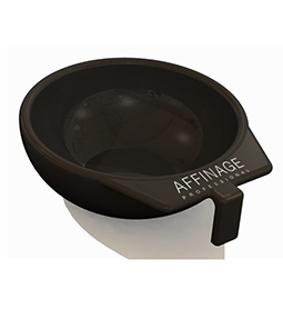 AFFINAGE TINT BOWL ~ BLACK ~ B&B-SUNDRIES Collection
