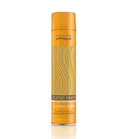 WIRELESS ~ FLEXIBLE HOLD HAIRSPRAY ~ NATURAL LOOK Collection