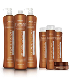 SALON INTRODUCTION ~ KERATIN KIT ~ BRASIL CACAU Collection