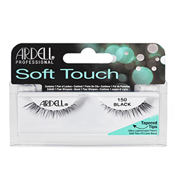 150 BLACK ~ SOFT TOUCH STRIP LASH RANGE ~ ARDELL Collection