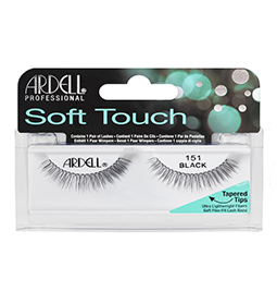 151 BLACK ~ SOFT TOUCH STRIP LASH RANGE ~ ARDELL Collection