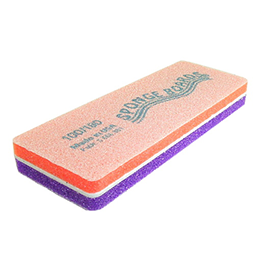 100/180 ~ SPONGEBLOCK ~ PURPLE/ORANGE ~ SPONGE ~ FILE Collection
