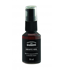 SHAVE OIL ~ 30ml ~ TRADITIONAL BARBERS Collection