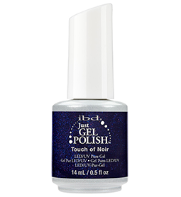 TOUCH OF NOIR ~ 14ml ~ JUST GEL POLISH ~ IBD Collection