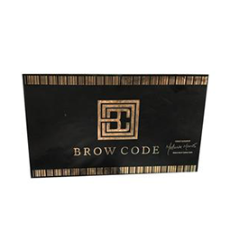 WINDOW DECAL / STICKER ~ MARKETING ACCESSORIES ~ BROW CODE Collection