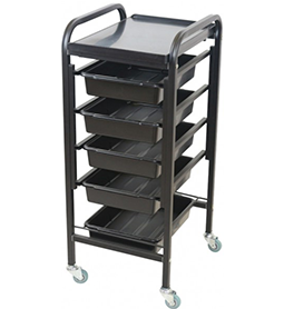 APOLLO ~ 5 DRAWER ~ TROLLEYS ~ JOIKEN Collection