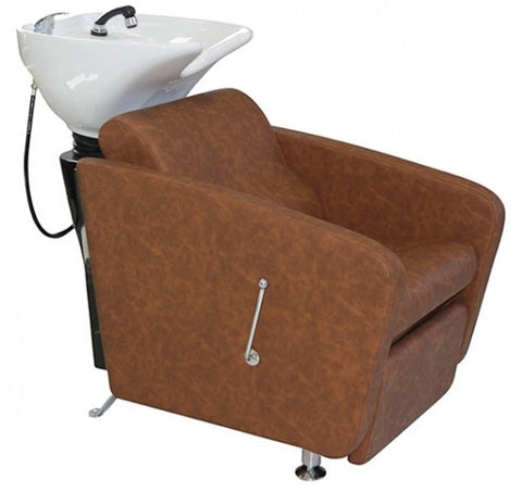 BRISTOL PLUS ~ SHAMPOO UNIT ~ TAN UPHOLSTERY ~ JOIKEN Collection