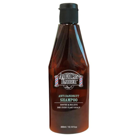 AMERICAN BARBER - ANTI-DANDRUFF SHAMPOO 300ml