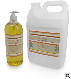 Bare All Unscented Massage Oil - 1 Litre