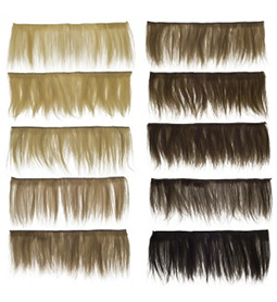 HAIR WEFT SET ~ 1-10 COLOURS ~ MANNEQUIN Collection