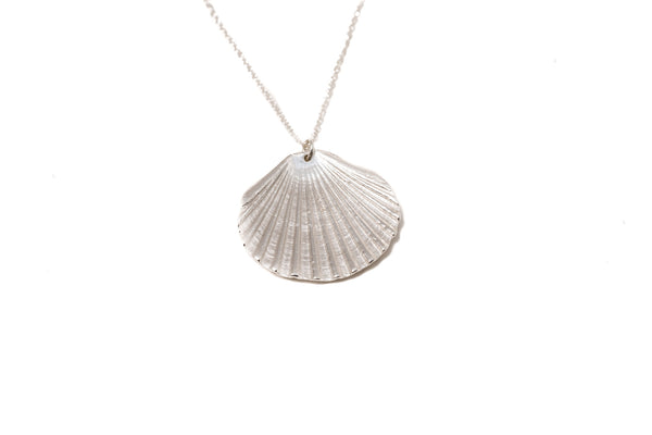 Large Fan Shell Necklace