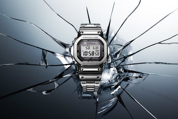 This Classic Casio G-Shock Design Goes 'Full Metal' for the First Time
